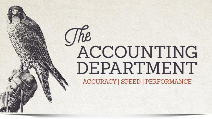 The Accounting Department header