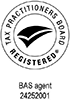 Tax Practitioners Board Registered BAS agent number 24252001